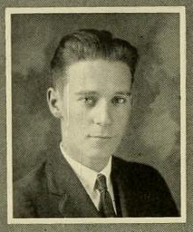 Image of Arthur Franklin Raper, from the Yackety Yack yearbook, [p.100], published 1924 by Chapel Hill, Publications Board of the University of North Carolina at Chapel Hill. Presented on Digital NC.