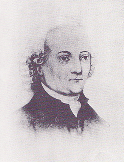 Bishop Carl Gotthold Reichel; sometimes Carl was anglicized as Charles. Image from the North Carolina Government and Heritage Library.