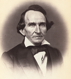 Photograph of David Settle Reid, 1859. Image from the Library of Congress.