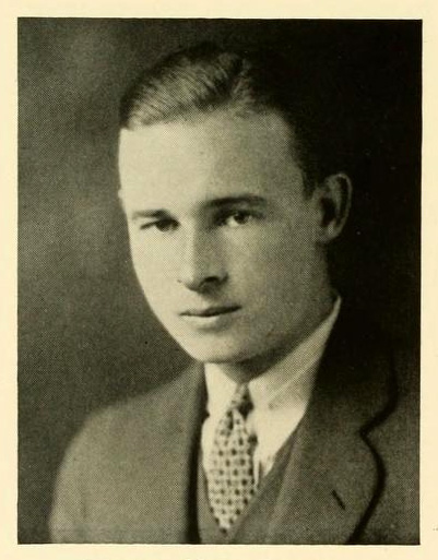 Senior portrait of Thomas Moore Riddick, 1931.  From <i>The Yackety Yack</i>, Vol. XLI, by the Publications Union at the University of North Carolina.  Presented on DigitalNC.