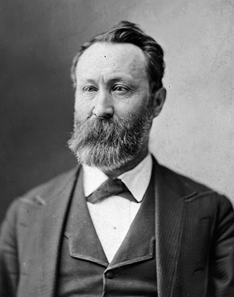 Photograph of William McKendree Robbins. Image from the Library of Congress.