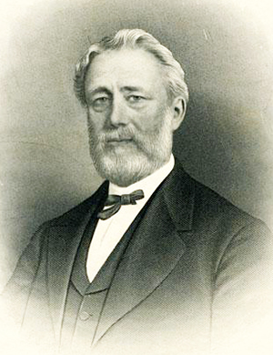 Engraving of William Blount Rodman. Image from the North Carolina Museum of History.