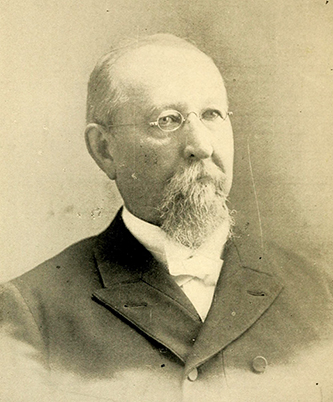 A photograph of Rev. Jethro Rumple. Image from Archive.org.