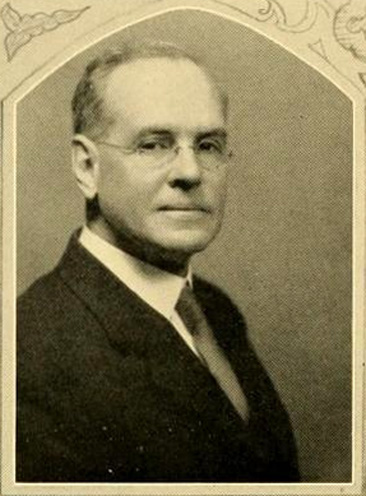 Portrait of Elbert Russell, Acting Dean of the School of Religion, Duke University, Durham, North Carolina.  From the Duke University yearbook <i>The Chanticleer,</i> Vol. XVI, p. 30, 1929.  Presented on DigitalNC.