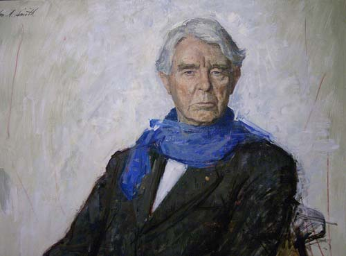 Portrait of Carl August Sandburg. Photo is courtsey from Flickr.