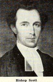 Image of Thomas Fielding Scott, from The North Carolina churchman volume 44, [p. 623], published 1955 by Lewisburg, N.C.: [Episcopal Church], Diocese of North Carolina. Presented on Internet Archive.