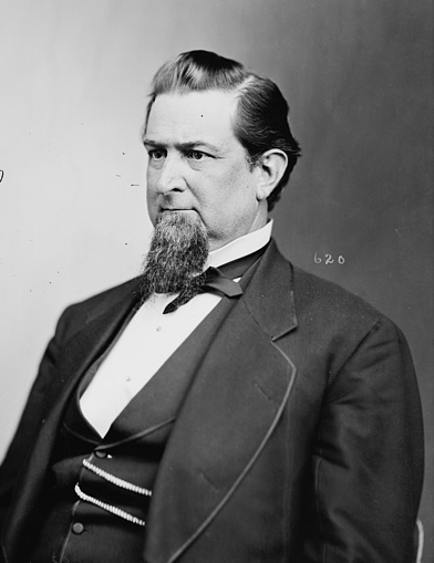 A photograph of Thomas Settle Jr. from between 1865 and 1880. Image from the Library of Congress.