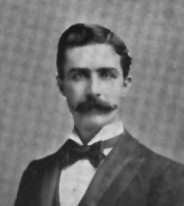 Portrait of Thomas Settle (III), from E. L. Murlin's <i>United States Red Book</i>, published 1896, Albany, New York. Presented by Hathi Trust.  Thomas Settle III was the son of Thomas Settle, Jr.