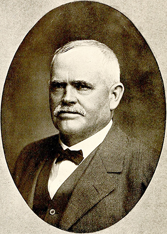 A photograph of John Gilbert Shaw published in 1919. Image from the Internet Archive.