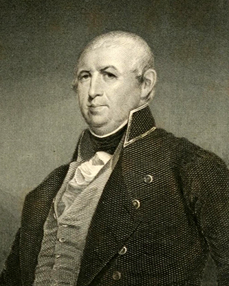 An engraving of Isaac Shelby, based on a painting by Matthew H. Jouett. Image from Archive.org.
