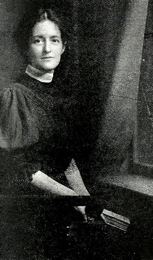 Margaret Busbee Shipp, circa 1914. Image from North Carolina Digital Collections.