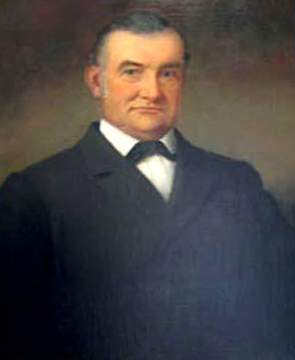 Portrait of William Marcus Shipp by William Garl Brown, 1886. Image from the North Carolina Museum of History.