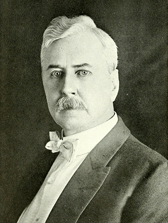 A photograph of George Henry Smathers published in 1919. Image from the Internet Archive.