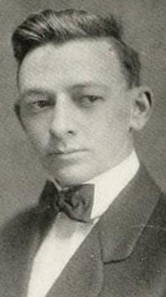 Image of Frank Austin Smethurst, from The Howler yearbook at Wake Forest University (College), [p.12], published in 1912 by Winston-Salem, N.C.: Wake Forest University. Presented on Digital NC.