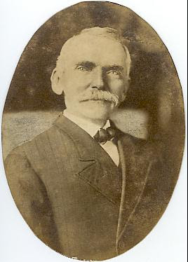 Portrait of John Baptist Smith, from the Caswell County Historical Association.