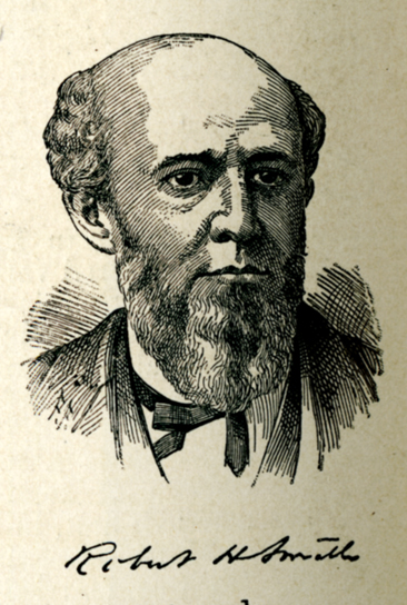 Engraved portrait of Robert Hardy Smith, from <i>The National Cyclopedia of American Biography,</i>, Volume VIII, p. 498, published 1900 by James T. White & Co.,  New York. From the collections of the Government & Heritage Library, State Library of North Carolina.
