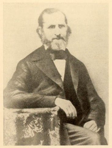 "Portrait of ""Dr. Patrick J. Sparrow, 1802-1867, Eighth President of Hampden-Sydney College,"" from the <i>Record of the Hampden-Sydney Alumni Association</i> Volume 31:1 (October), p. 25, published 1956 by Hampden-Sydney College.  Presented on Archive.org."