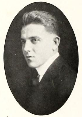 Image of Laurence Tucker Stallings, from The Howler at Wake Forest College (University), [p.64], published 1916 by Winston-Salem, N.C.: Wake Forest University. Presented on Digital NC.