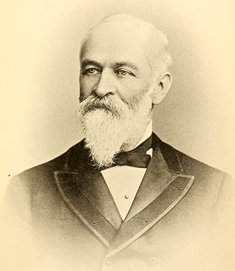 Photograph of Charles Manly Stedman, circa 1893. Image from Archive.org