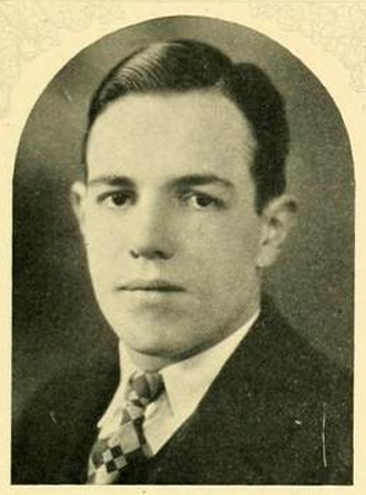 Senior portrait of George Myers Stephens, from the 1926 University of North Carolina yearbook <i>The Yackety Yack,</i> p. 141, published 1926 by the Publications Union, University of North Carolina at Chapel Hill.  Presented on DigitalNC.