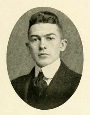 Senior portrait of Henry Leonidas Stevens, Jr., from the University of North Carolina yearbook <i>The Yackety Yack</i>, p. 99, published 1917, Chapel Hill, North Carolina. Presented on DigitalNC.