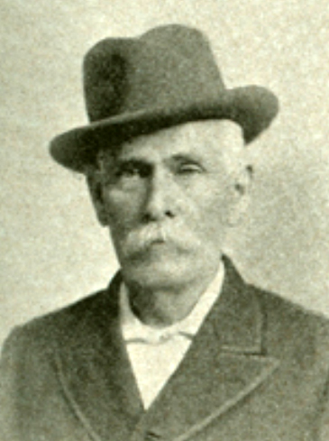 Photographic portrait of William Franklin Strowd, from the Biographical Directory of the U.S. Congress online, image published in E. L. Murlin's <i>United States Red Book</i>, published 1896, by J. B. Lyon, Publisher, Albany, New York.