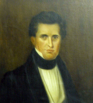Portrait of Edmund Strudwick. Image from the North Carolina Digital Collections.