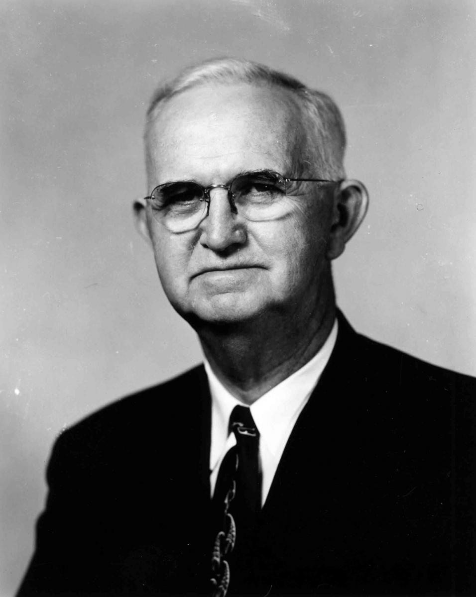 Black and White portrait of Dr. Jasper Leonidas Stuckey, circa 1940-1949 and circa 1950-1954. Item 0227285, Special Collections Research Center, North Carolina State University Libraries, Raleigh, North Carolina. Used by permission.