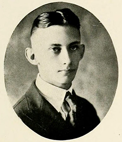 Dr. Haywood Maurice Taylor, circa 1920. Image from University of North Carolina at Chapel Hill.