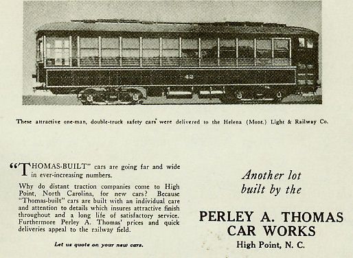 1924 advertisement. Image courtesy of the Mid-Continent Railway Museum.