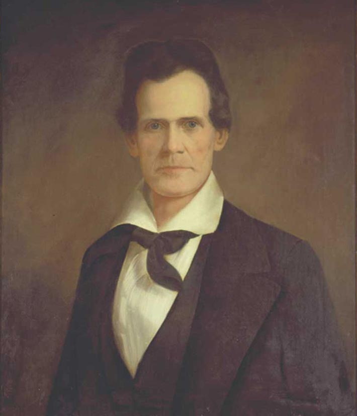 Image of William Trousdale, from Tennessee Portrait Project, published unknown by unknown artist. Presented on Tennessee Portrait Project.