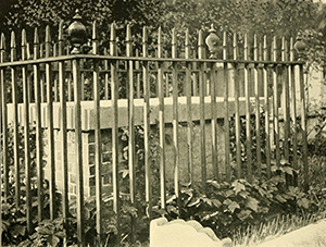 Photograph of the tomb of William Tryon in Twickenham, England, 1903.  Image from Archive.org/University of North Carolina at Chapel Hill.