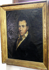 A portrait of Josiah Turner, Senior, father of Josiah Turner, Junior. Image from the North Carolina Digital Collections.