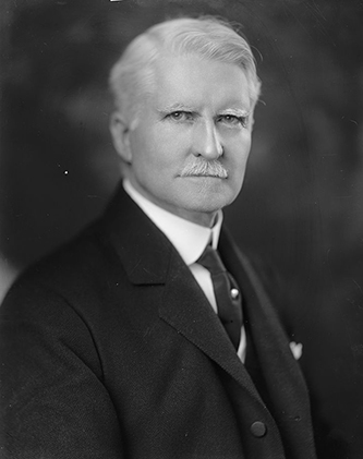 A photograph of Lawrence Davis Tyson from between 1905 and 1929. Image from the Library of Congress.