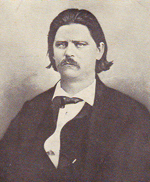 Photograph of Zebulon Baird Vance, taken on the day of his inauguration, 1862. Image from North Carolina Historic Sites. Used courtesy of the North Carolina Department of Cultural Resources.