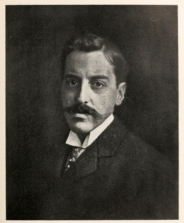 Photographic portrait of George Vanderbilt.  From <i>American Forestry</i>, Volume XX, published by the American Forestry Association, 1914, Washington, D.C.
