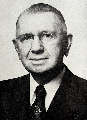 A photograph of Walter Herbert Weatherspoon published in 1972. Image from the Internet Archive.