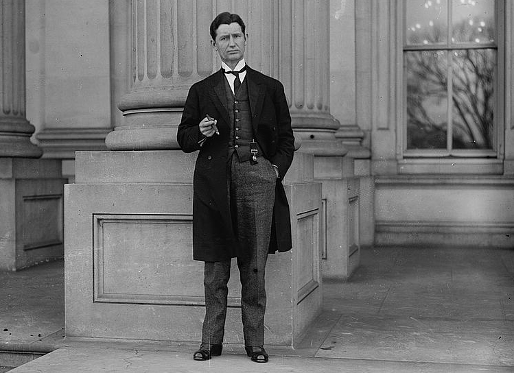 Edwin Yates Webb circa 1910-1915. Image from the Library of Congress.
