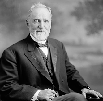 "A photograph of Senator William Robert ""Sawney"" Webb. Image from the Library of Congress."