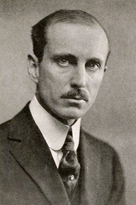 A photograph of professor Bertram Whittier Wells from the 1920 North Carolina State University yearbook. Image from the North Carolina State University.