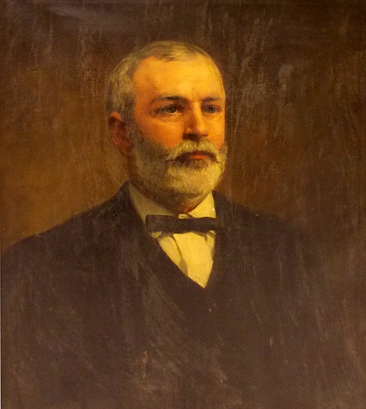 Portrait of Colonel Junius Brutus Wheeler, 1902, Oil on canvas 30 x 25 inches. By James Carroll Beckwith (1852 - 1917).  Image from the West Point Museum Collection, United States Military Academy.  Used by permission.