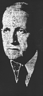Photograph of William Edgar White from the Greensboro Daily News, March 31, 1935.