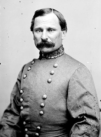 A photograph of Confederate general Cadmus Marcellus Wilcox. Image from the Library of Congress.