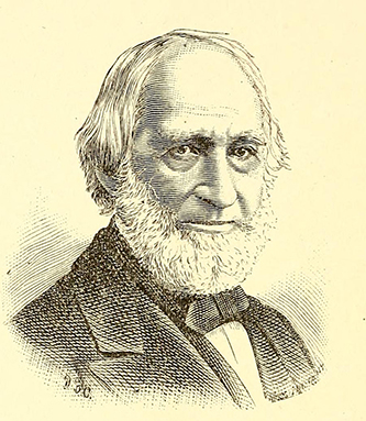 An engraving of Alfred Williams published in 1885. Image from the Internet Archive.
