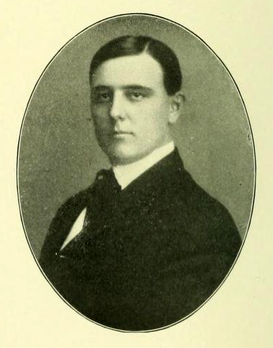Senior portrait of Samuel Clay Williams, from the 1905 Davidson College yearbook <i>Quips and Cranks</i>, p. 30.  Presented on DigitalNC.
