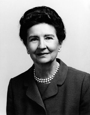 Photograph of Ellen Black Winston circa the 1960s. Image from the North Carolina Highway Historical Marker Program / NCSU University Archives.