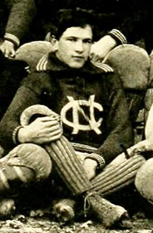Photograph of Hollis Taylor Winston from the 1896 University of North Carolina yearbook. Image from Digital NC.