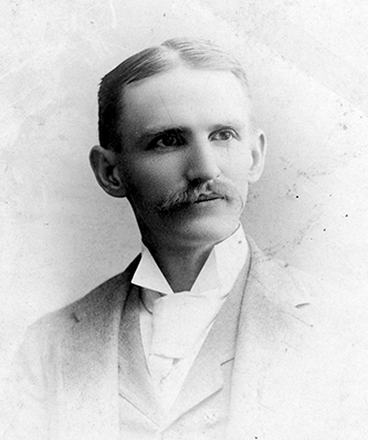 A photograph of William Alphonso Withers, circa 1880-1889. Image from North Carolina State University.
