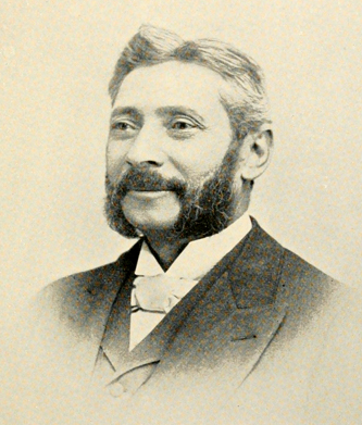Photograph of Samuel Wittkowsky, circa 1893. From <i>A memorial volume of the Guilford Battle Ground Company</i>, published 1893 by Reese & Elam, Greensboro, N.C.
