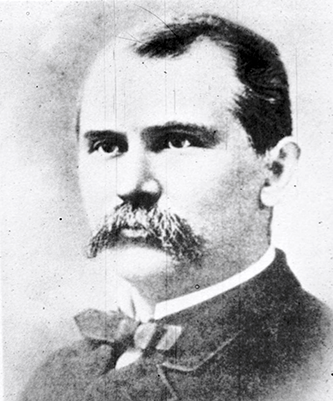 A photograph of Dr. Thomas Fanning Wood. Image from the New Hanover County Public Library Digital Collection.